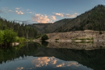 Tailing pond in Bonanza, Idaho © Kyler Michaelson