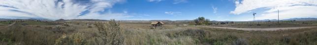 Chesterfield, Idaho 360 panorama