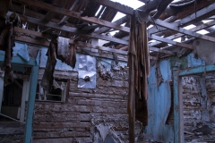 This is the living room of an old homestead in Lemhi County, Idaho