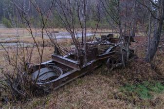 Old mining Equipment in Lemhi County, Idaho