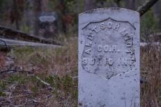The grave of Albert Schmidt 9th Ohio Infintry