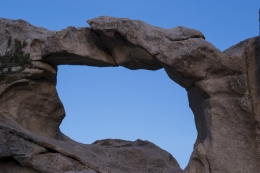 This archway is in City of Rocks, Idaho
