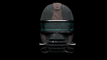 3d model of future helmet