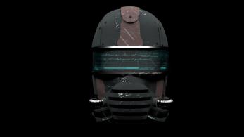 3d model of future helmet