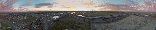 Jensen's Grove 360˚ Panorama at Sunset