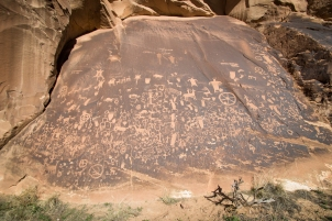 Native American pictographs