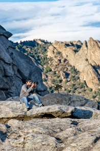 This is a self portrait I made for Advanced Photo Media at Idaho State University. This is the City of Rocks near Malta, Idaho. This is probably one of my favorite places to shoot in Idaho, or anywhere for that matter. The landscape is otherworldly with stone giants sleeping under mountain mahogony and pinyon pine. I have always been drawn here like a magnet so I had to include this shot. Shot with natural light and radio trigger.
